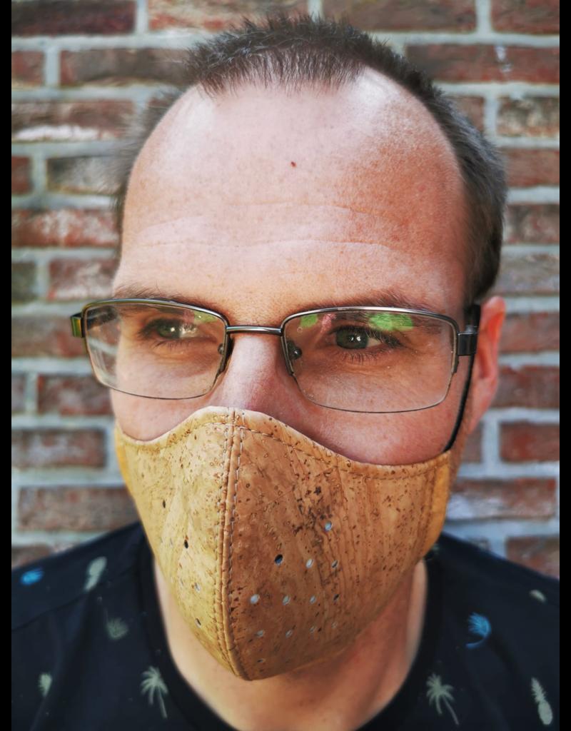 Captain Cork CORK Mask BROWN