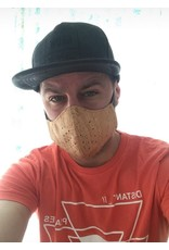 Captain Cork BLACK Mouth Mask Next Generation Filter out of cork