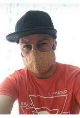 Captain Cork ZWART Mondmasker Next Generation Filter uit KURK (VANAF 06/05)