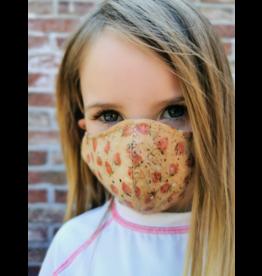 Captain Cork KINDEREN Aardbeien masker uit kurk met filter