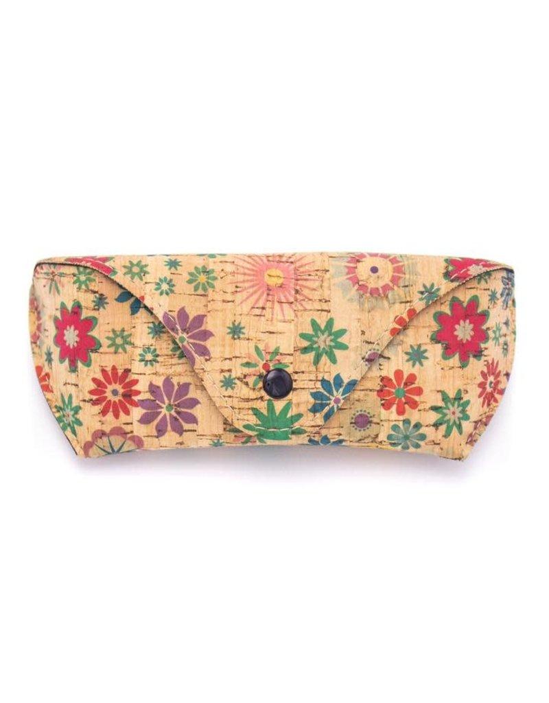 Captain Cork FLOWERS -  Soft cover Glasses Cork