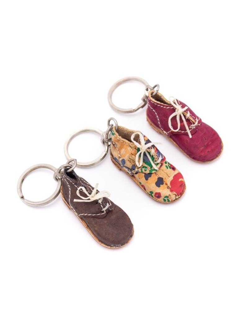 SHOE - Keychain out of cork