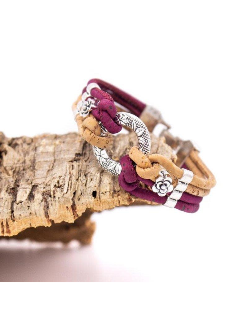 Captain Cork CIRKLE - Bracelet out of cork