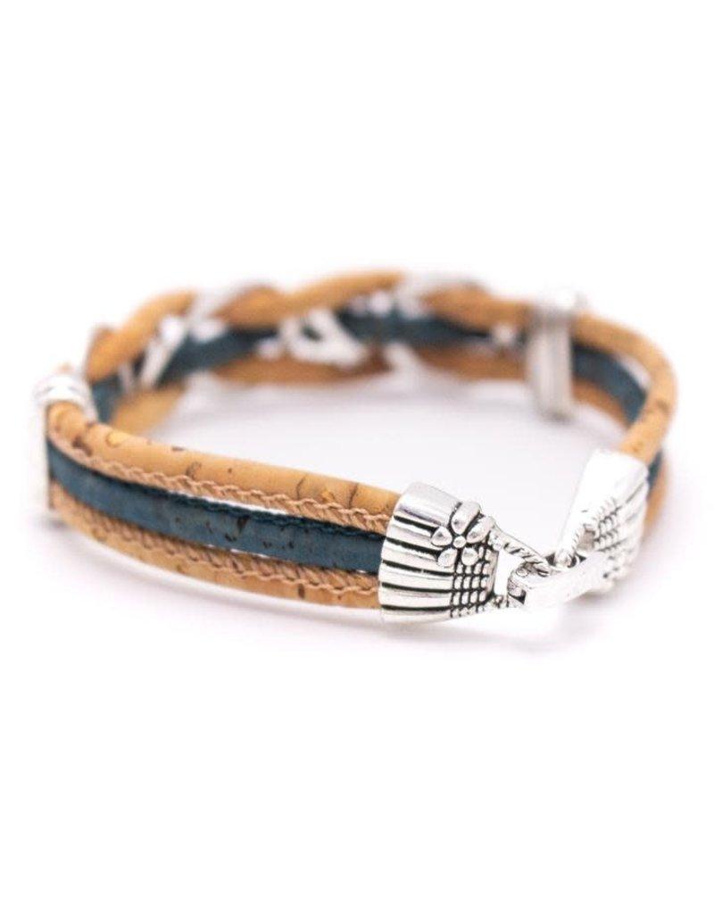 Captain Cork LOVE TRUST - armband uit kurk