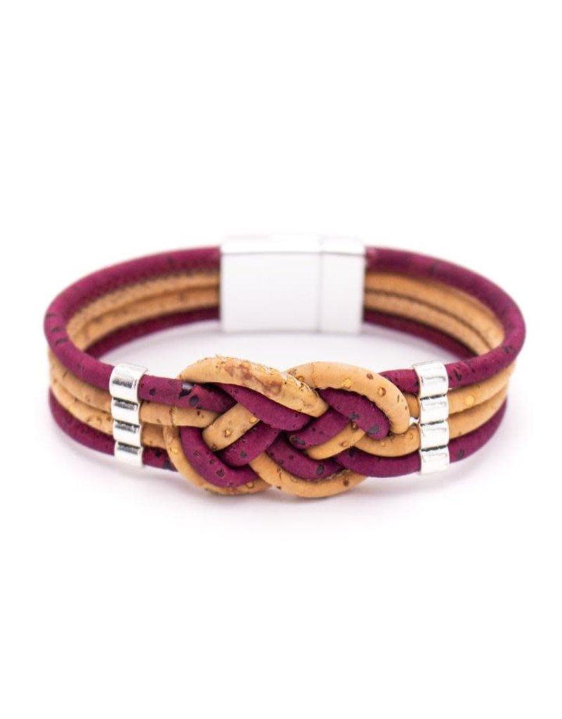 Captain Cork VLECHT - armband uit kurk