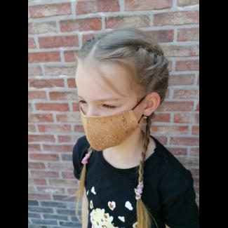 KURKEN mondmaskers FAMILIE Pakket (2 volwassenen en 2 Kinderen): 4 maskers en 4 bruggetjes (VOORDEEL van 10 euro)