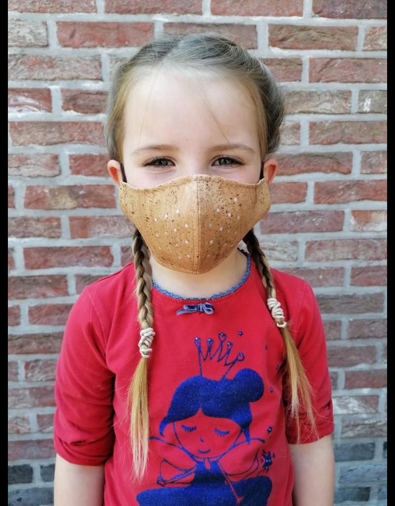 FAMILIE PAKKET MONDMASKERS (2 Volwassenen en 3 kinderen) 5 maskers en 5 bruggetjes( VOORDEEL VAN 15) euro)