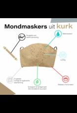Captain Cork Bruggetje voor mondmasker: om langdurig comfortabel je masker te dragen