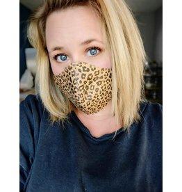 Captain Cork LEOPARD Cork Mouth Mask Next Generation PLUS extra cotton filter