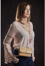 Captain Cork BERNADETTE - Flamboyant Belt Bag out of cork