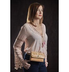 Captain Cork BERNADETTE - Flamboyant Belt Bag out of cork