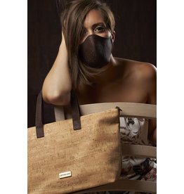 Captain Cork PAULINE - Stylish lady bag with brown strap