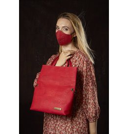 Captain Cork CRISTINA- Your Fold-Over Companion in red