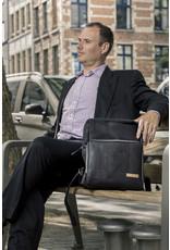 Captain Cork SAM - Business Laptop Rugzak BLACK
