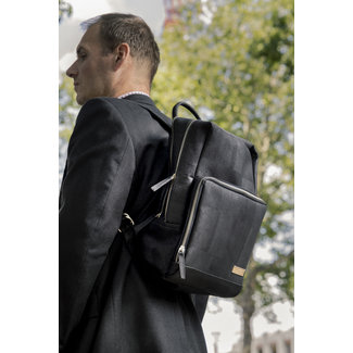 Captain Cork SAM - Business Laptop Rugzak BLACK