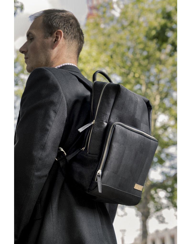 Captain Cork SAM - Business Laptop Back Pack  BLACK