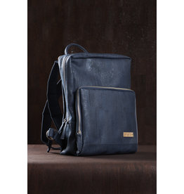 Captain Cork SAM - Business Laptop Back Pack NAVY BLUE