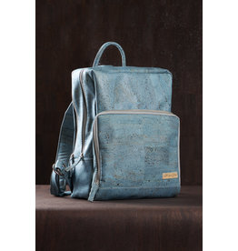 Captain Cork SAM - Business Laptop Back Pack TURQUOISE