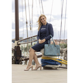 Captain Cork DOMINIQUE - Laptop Business Tas TURQUOISE