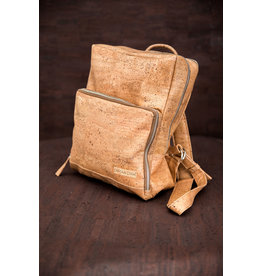 Captain Cork SAM - Business Laptop Back Pack TOBACCO