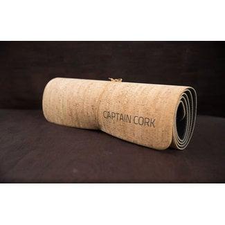 Captain Cork YOGA - KURKEN YOGA MAT NATURAL (IN PRODUCTIE_ verwacht begin december)