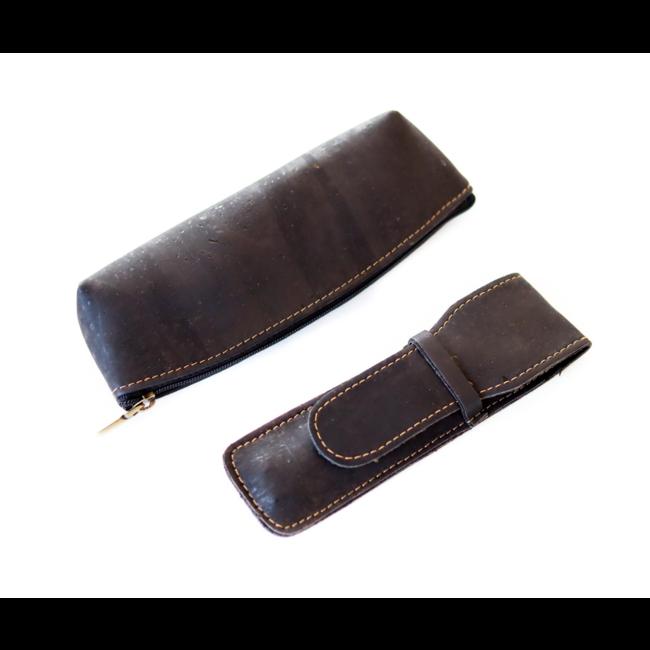 Captain Cork QUIN - CORK pencil case BLACK