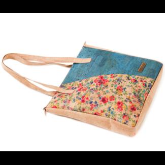Captain Cork FLEUR - CORK Lux Tote Bag FLOWERS