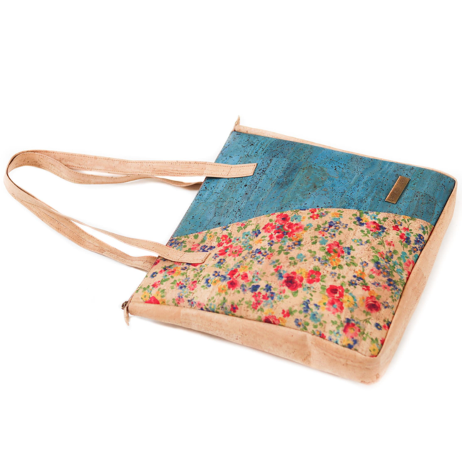 Captain Cork FLEUR - CORK Lux Tote Bag FLOWERS