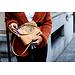 Captain Cork GHISLAINE - CORK shoulder bag GOLD / NATURAL