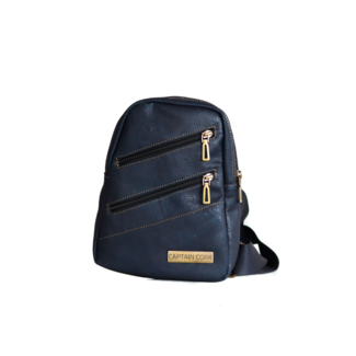 Captain Cork BENTLEY - KURKEN city rugzak NAVY BLUE