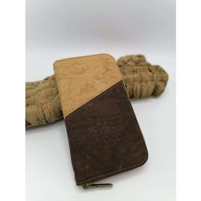 Captain Cork MARIE _ ladies wallet NATURAL/ BROWN