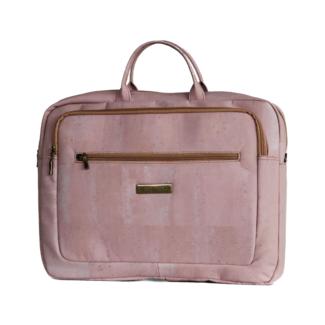 Captain Cork LEWIE - CORK laptop bag PINK (IN PRODUCTION)
