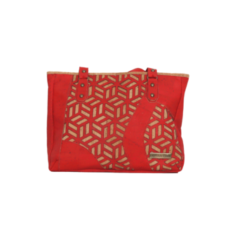 Captain Cork MYRTHE_ CORK purse BRIGHT RED