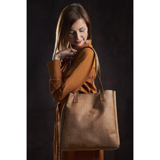 Captain Cork ODETTE - Stylish Tote bag ARMY GREEN