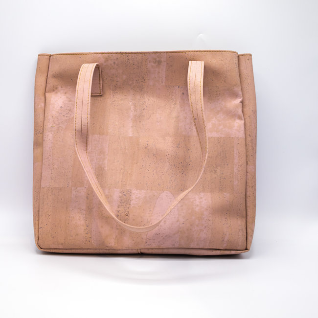 Captain Cork ODETTE_PINK_CORK tote bag