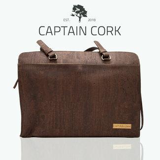 Captain Cork DOMINIQUE_BRUN FONCE_ sac d'ordinateur portable DE LIEGE