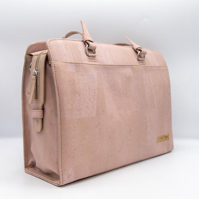 Captain Cork DOMINIQUE_PINK_CORK laptop bag