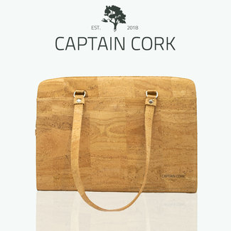 Captain Cork DOMINIQUE GROOT _NATUREL_KURKEN laptoptas