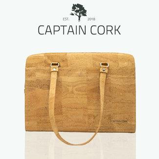 Captain Cork DOMINIQUE LARGE _NATURAL_Laptop Business