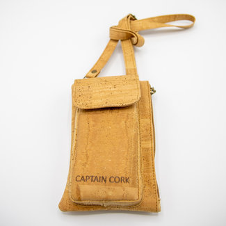 Captain Cork NATURAL_ CORK Telephone BAG