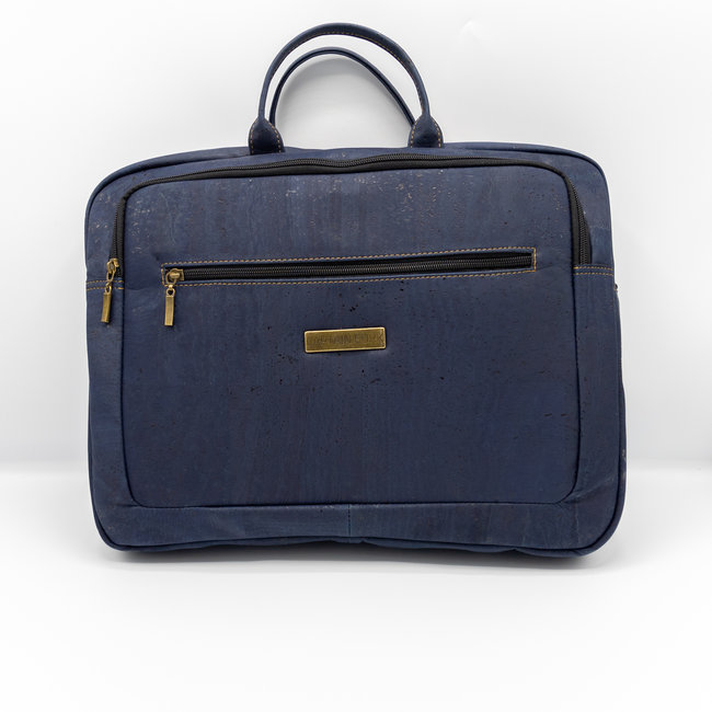 Captain Cork LEWIE_MARINE BLUE_CORK laptop bag