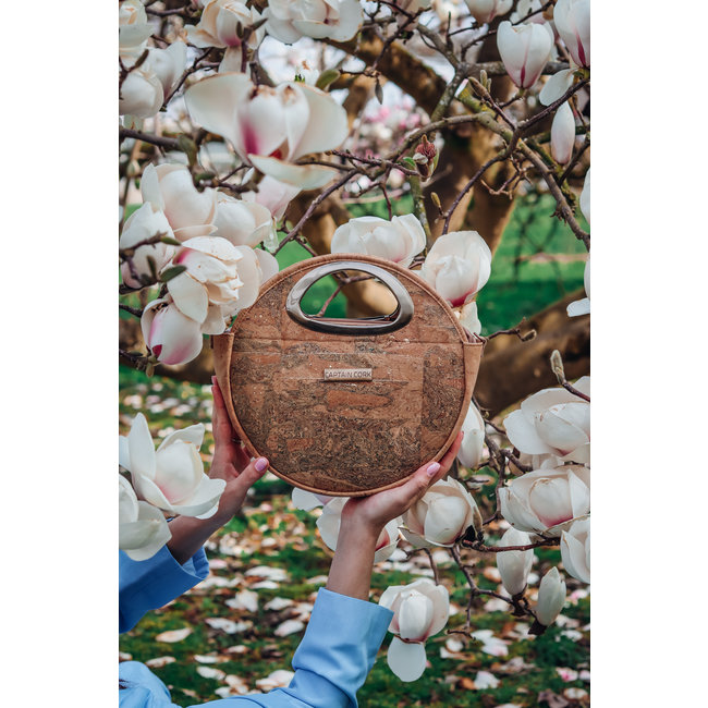 Captain Cork LOTTA_NATURAL _CORK hand bag