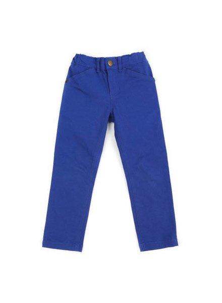 OUTLET // broek skinny FABIAN - royal blue