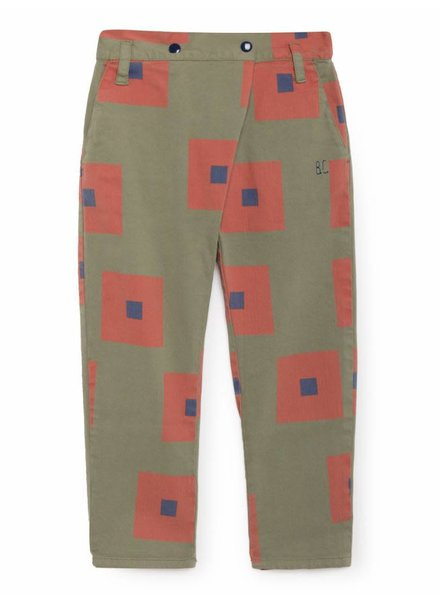 baggy trousers - squares