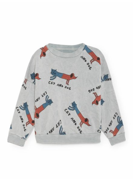 sweatshirt - cats and dogs