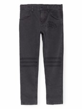Slim Fit Trousers - black