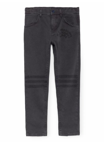 OUTLET // Slim Fit Trousers - black