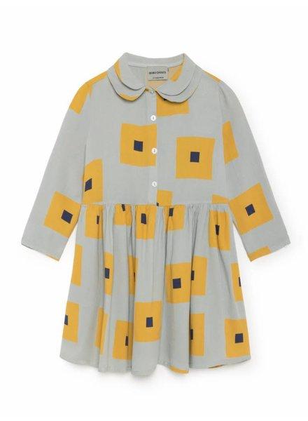 princess dress - squares