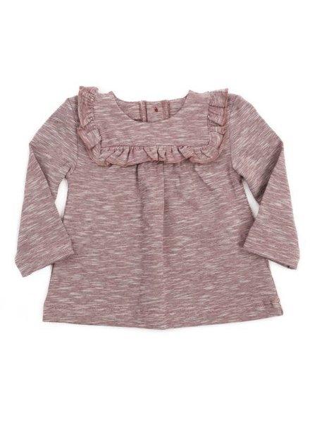 t-shirt GINETTE - brick