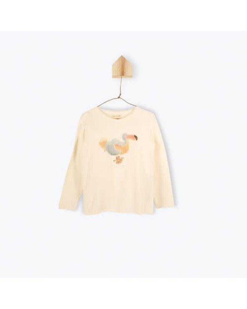 t-shirt Dodo - ecru